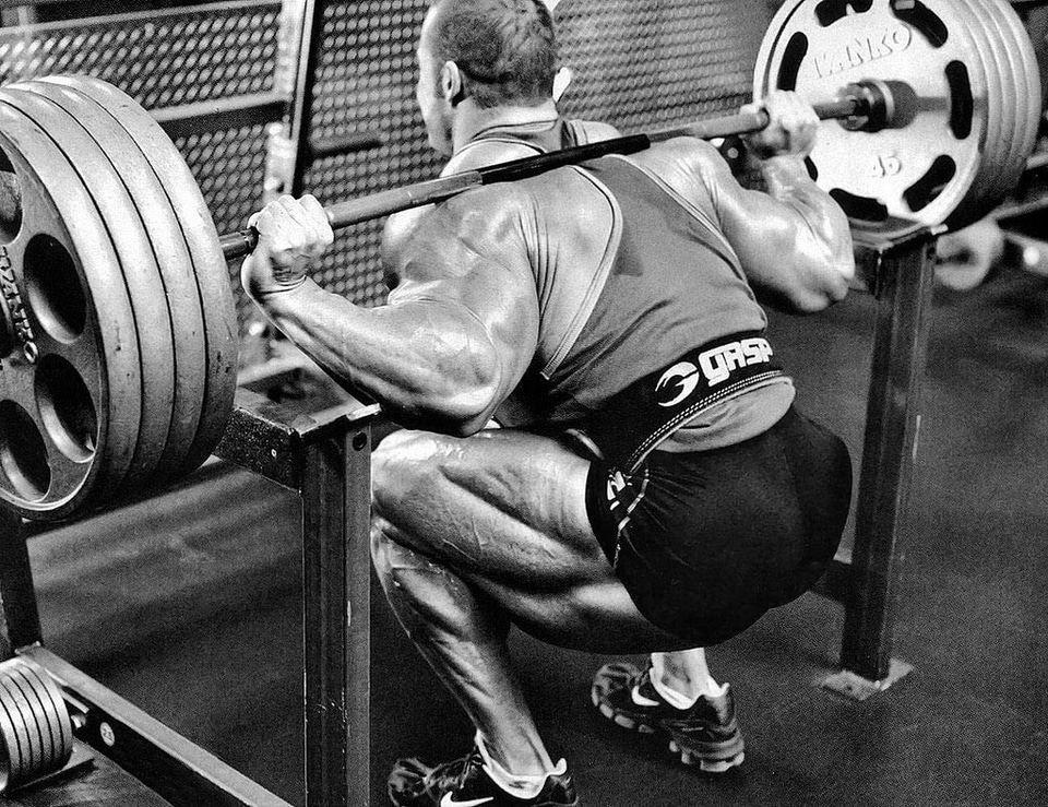 Low Bar Squat