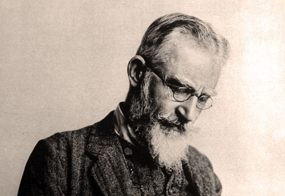 10 Life Lessons From George Bernard Shaw